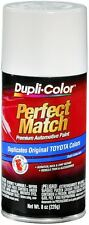 DUPLICOLOR SUPER WHITE II TOYOTA TOUCH-UP PAINT - CODE: 040 (8 OZ) BTY1556