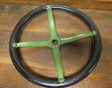 """1920-25 FORD MODEL T 16"""" STEEL & FORDITE STEERING WHEEL. LOVELY CONDITION."""