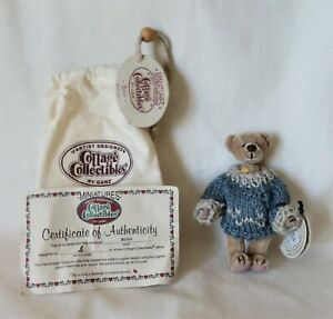 """Ganz Artist Designed Cottage Collectibles Miniatures 4"""" - """"Ross"""" -New-Retired"""