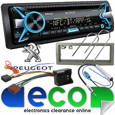 Peugeot 407 Sony Cd Mp3 Usb Bluetooth Manos Libres Ipod Iphone Radio estéreo kit