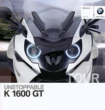 Prospekt Motorrad BMW K 1600 GT 2010 Motorradprospekt 9 10 brochure broschyr