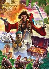 Jigsaw puzzle Entertainment Movie Book Box Treasure Island 1000 piece NEW