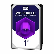 "Western Digital 1TB Purple 5400 rpm SATA III 3.5"" Internal Surveillance Hard Dr…"