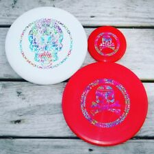 Gateway SSS Warlock, Dynamic Discs Prime Justice And Mini Disc New/Custom Party