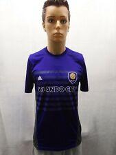 Adidas S Purple Orlando City SC Shirt Climalite MLS