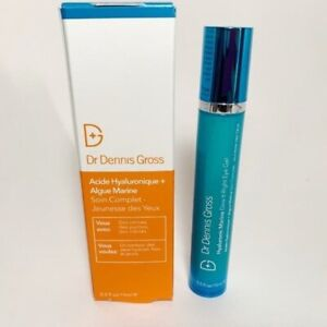 Dr. Dennis Gross Dew It Right Eye Gel Hyaluronic Acid Marine FULL SIZE NIB