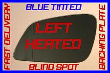 Bmw 535i Gt Gran Turismo F07 2009+ Door Wing Mirror Glass Blue Blind Spot Left