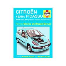 Citroen Xsara 1.6 1.8 Petrol 2.0 Turbo Diesel 00-02 (W to 52 Reg) Haynes Manual