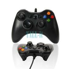 New USB Wired Xbox 360 Gamepad  Game Controller For PC Computer Windows Black US