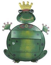 Briefkasten Frosch Kermit handebemalt Metall Postkasten Postfach Froschkönig