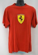 Ferrari SF graphic Red T-Shirt T TEE shirt Official Licensed top S/S Mens Size M