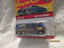 Hot Wheels Classici GMC Motorhome Blu Cromo #29 Of 30 Pressofuso 1:64 2006