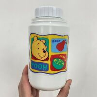 Vintage 1990s Winnie The Pooh Graphic Thermos Bottle White