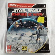 MICHAEL KNIGHT - Star Wars Empire at War Prima's Official Game Guide ** NEW! **