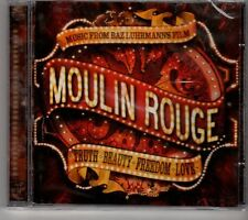 (GK37) Music From Bazluhrmanns Flim, Moulin Rouge - Sealed Replay CD