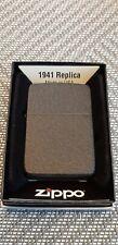 Original Zippo 1941 Replica Black Crackle - 2014 - Neu