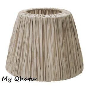 "Ikea Hemsta Lamp Pendant Shade Beige 14"" 803.048.37 New"