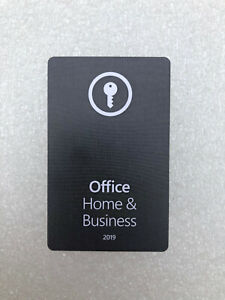 Microsoft Office 2019 Home and Business - PC / MAC ✅ e-mail delivery ✅