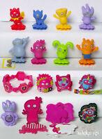 Komplettsatz Ugly Dolls 16 St VV282 - VV375 Kinder Joy Ferrero mit allen BPZ