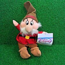 NEW Disney Exclusive Snow White & The SEVEN Dwarfs GRUMPY Plush Toy SHIPS FREE
