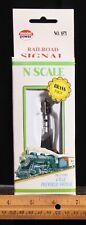 N Scale Model Power Railroad Light Signal Item number 8571 Brand New unused.