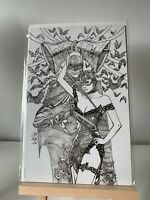 BATMAN #50 SKETCH VIRGIN VARIANT JETPACK BALENT MIDNIGHT DC COMICS 2018