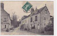 CPA 41400 CHISSAY EN TOURAINE rue du Château animée  Edit ND ca1908
