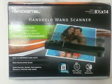 Pandigital Handheld Photo Document Wand Scanner One Touch - Includes MicroSD!