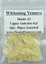 Dental Ultra-Thin Whitening Veneers Resin Teeth Upper Anterior Shade A3 80 PIECE