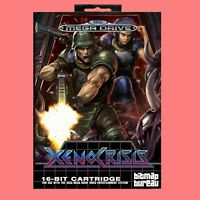 XENO CRISIS 16 bit MD Game Card For Sega Megadrive/Genesis Include Retail Box