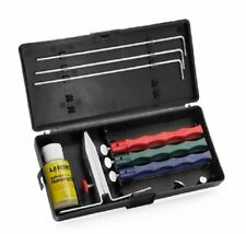 Lansky Standard Three-Stone Sharpening System, Coarse to Fine Grit Hones #LKC03
