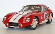 (Rare) Shelby Collectibles 65 Shelby Cobra #98 Daytona Coupe1:18 Die Cast-In Box