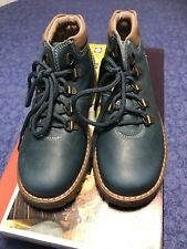 Pablosky Blue Winter Shoes Size UK 12.5 Euro 31 BNIB