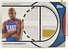 Kevin Garnett 2009-10 Topps All-Star Quad Relic 2 color Patch / Jersey #d 28/100