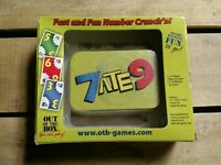 Card Game - 7 ATE 9 - Fast and Fun Number Crunch, New in Package