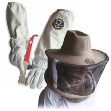 Cotton Amp Sheepskin Beekeeping Xl Gloves With Vail Amp J Hook Tool Gl Glv Jhk Vl Xl