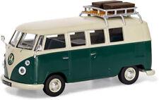 1:43 VW Type 2 1500 SP Devon Caravette by Corgi in Pearl White and Velvet Green