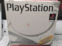 Sony Playstation 1 In Original Box w/ Controller + Instructions + Memory Card