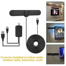 HD TV Digital Antenna Skywire Antena HDTV Indoor with USB Charging Coaxial