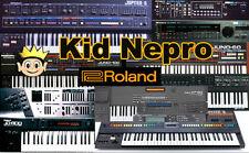 Kid Nepro Roland Jupiter 6 Sound Library - 96 New Sounds WAV or Europa Sysex