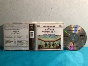 Guitar Collection : Leo Brouwer Guitar music volume 3   Music cd