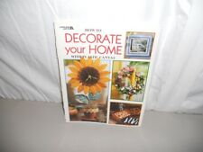 HOW TO DECORATE YOUR HOME WITH PLASTIC CANVAS LEISURE ARTS @1999