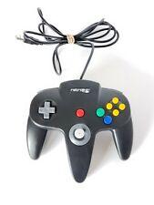 Retrolink Nintendo N64 Wired USB Controller Black Classic - PC & Mac