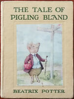 Beatrix Potter The Tale of Pigling Bland, Frederick Warne & Co Hardback 1950's