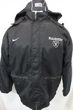 OAKLAND RAIDERS NFL Football AUTHENTIC NIKE PRO LINE NWA Thick JACKET XXL