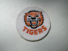 "1960s Vintage Baseball Cloth patch MLB Detriot Tigers    2"" NOS"