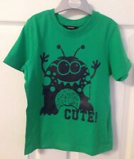 Kids Green George 'Cute' T Shirt - Age 5-6yrs