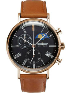 Zeppelin Men's Series LZ120 Rome Quartz Watch 7196-2 NEW