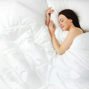 Duvet 12.0 tog Anti-Allergy Winter Warm Down Quilt Poly Cotton