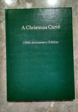 Signed - A CHRISTMAS CAROL Charles Dickens - 150th Anniversary - 1993 - Mint